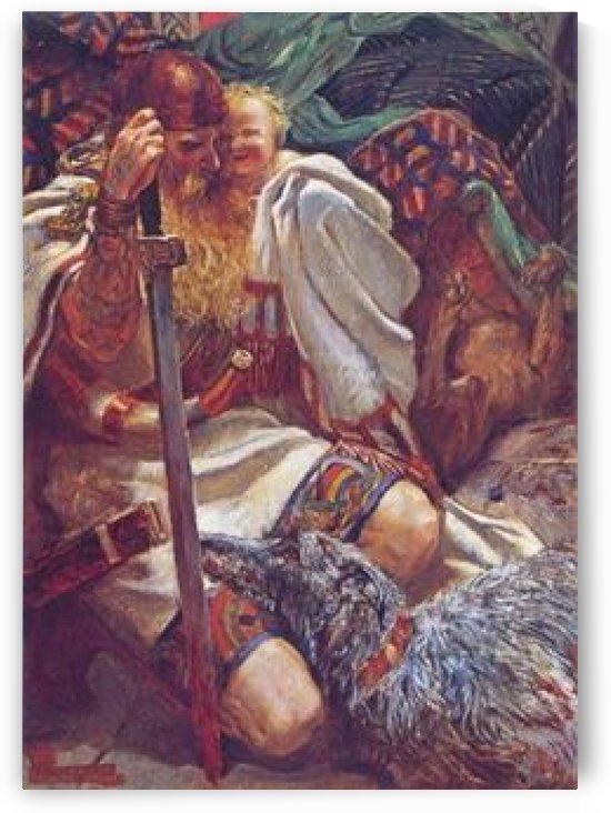 Who Knoweth the Spirit of Man by John Byam Liston Shaw