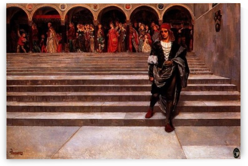 A marriage procession by John Byam Liston Shaw
