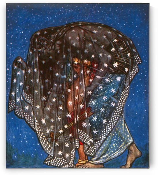 Sleep Poster by John Byam Liston Shaw