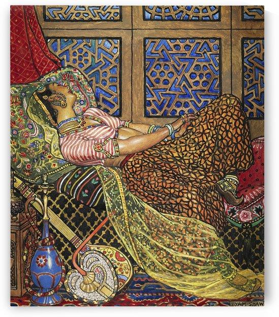 Zira Painting by John Byam Liston Shaw