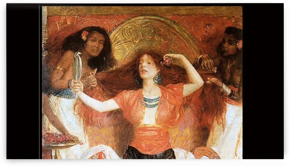 Song for the Clatter-Bones by John Byam Liston Shaw