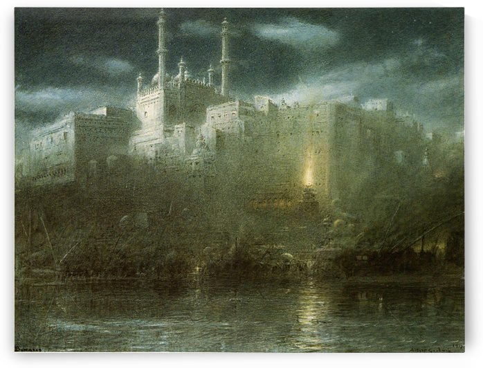 Benares by Albert Goodwin