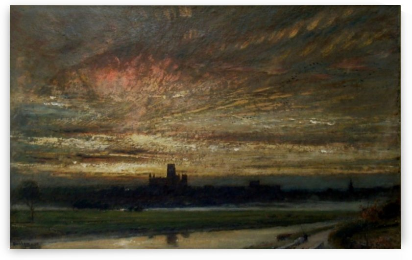 Durham by Albert Goodwin