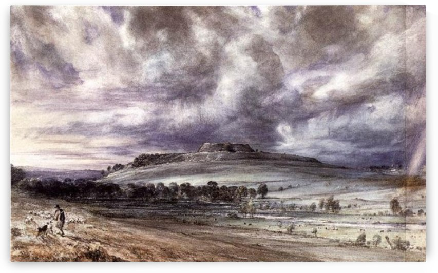 Old Sarum by Albert Goodwin