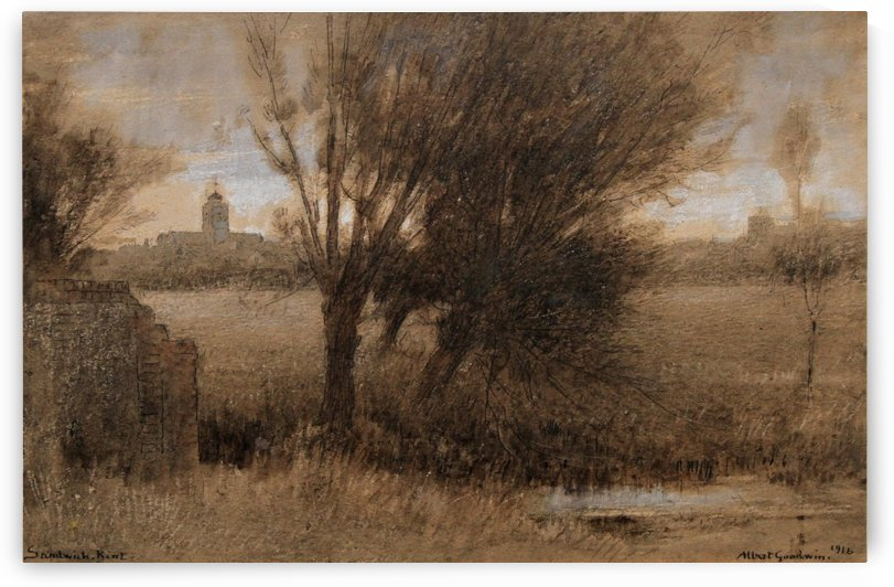 Kent Sandwich by Albert Goodwin