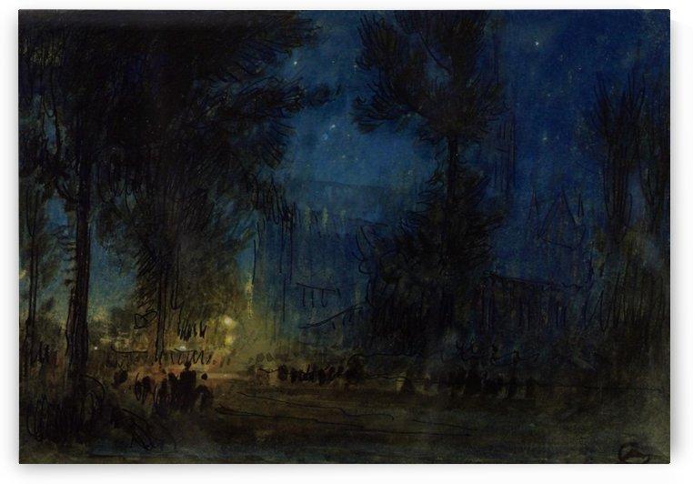 Salisbury by Albert Goodwin