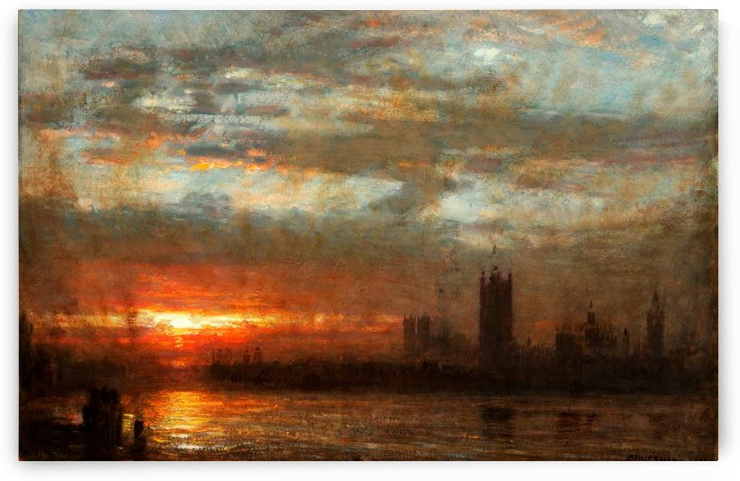 Westmister by Albert Goodwin