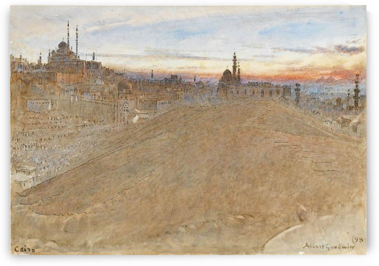 Cairo Egypt by Albert Goodwin