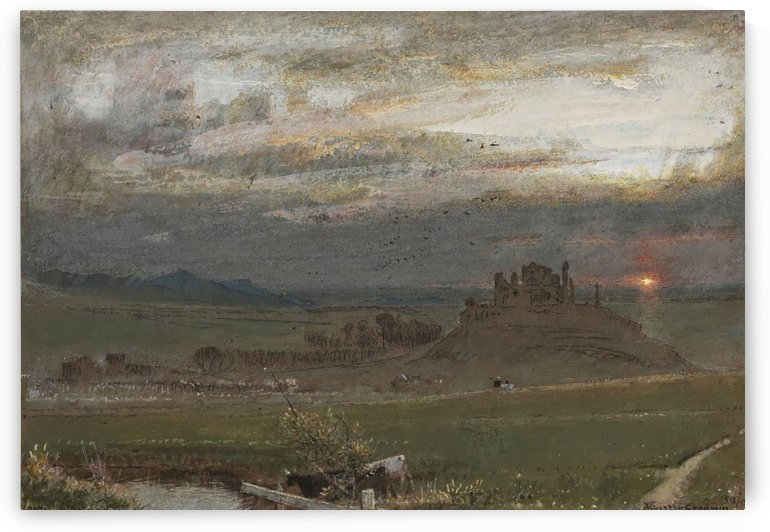 Cashel, Ireland 1913 by Albert Goodwin