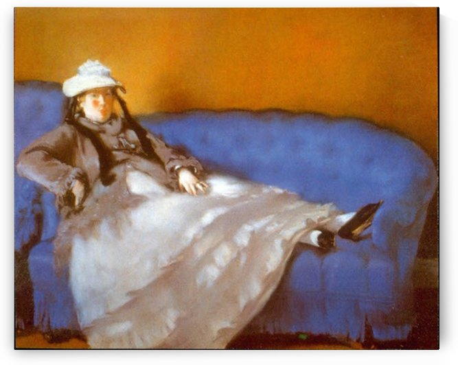 Madame Manet by Manet by Manet