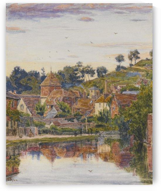 Near Winchester by Albert Goodwin