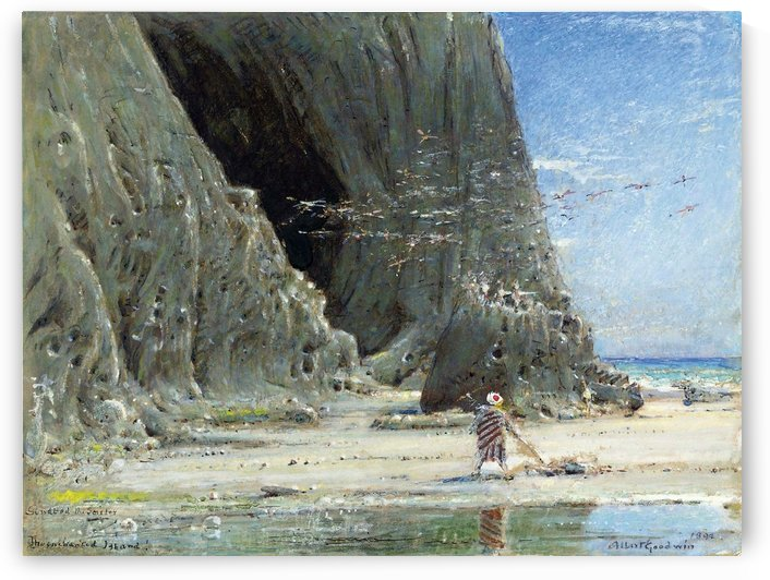 Sinbad the Sailor by Albert Goodwin