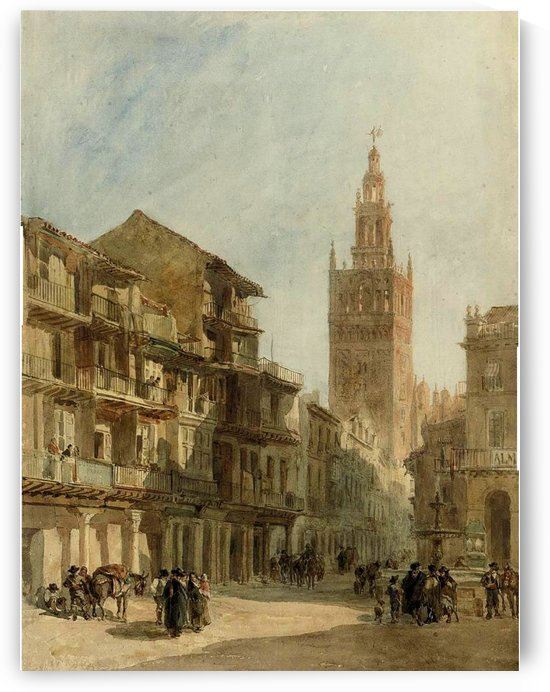 The Giralda by Edward Angelo Goodall