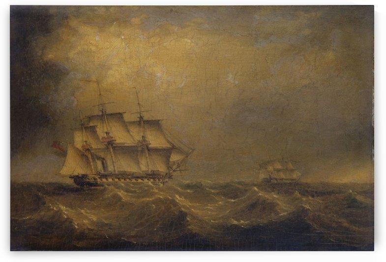 The Pursuit by John Wilson Carmichael