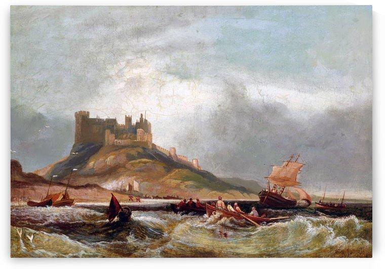 Castle by the o'jays by John Wilson Carmichael