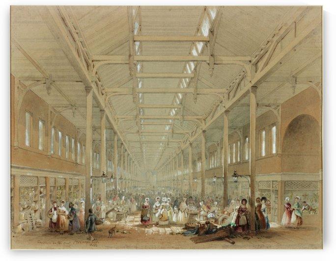 Newcastle great hall by John Wilson Carmichael