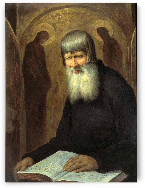 Old beliver by Mikhail Petrovich Botkin