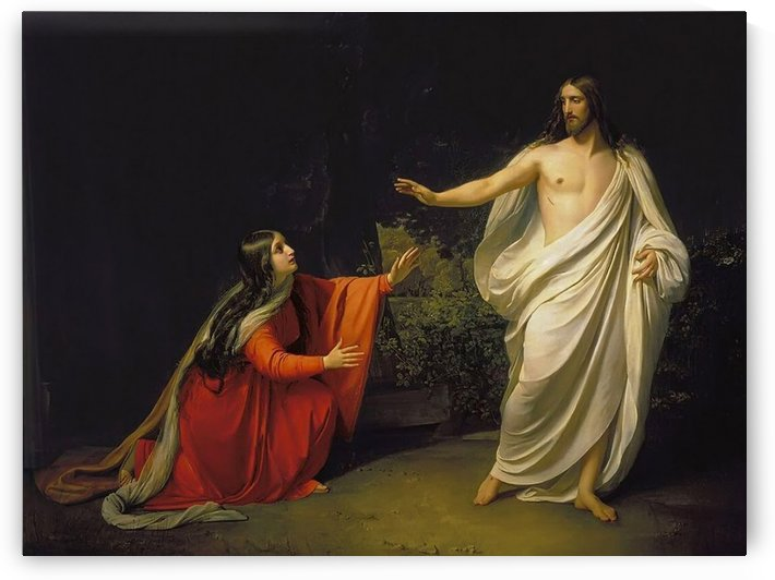 The Appearance of Christ to Mary Magdalene by Mikhail Petrovich Botkin