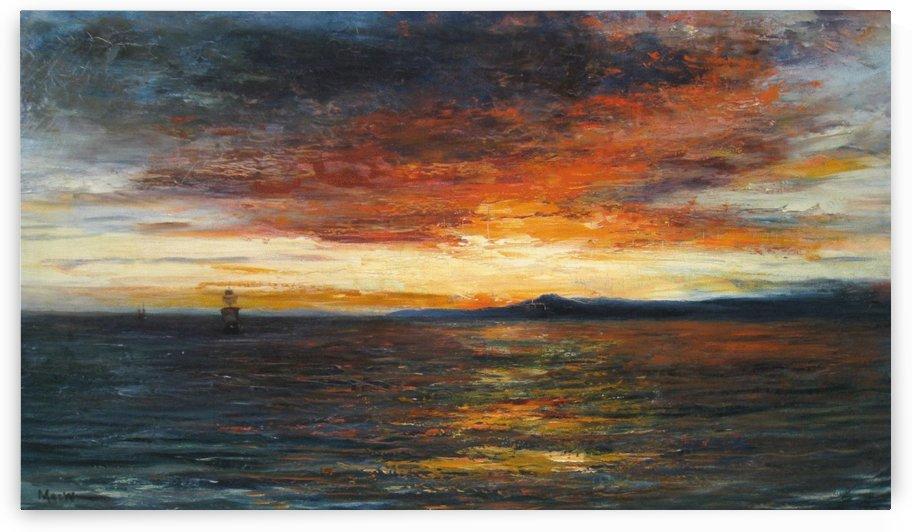 Sunset on the Isle of Skye by John MacWhirter