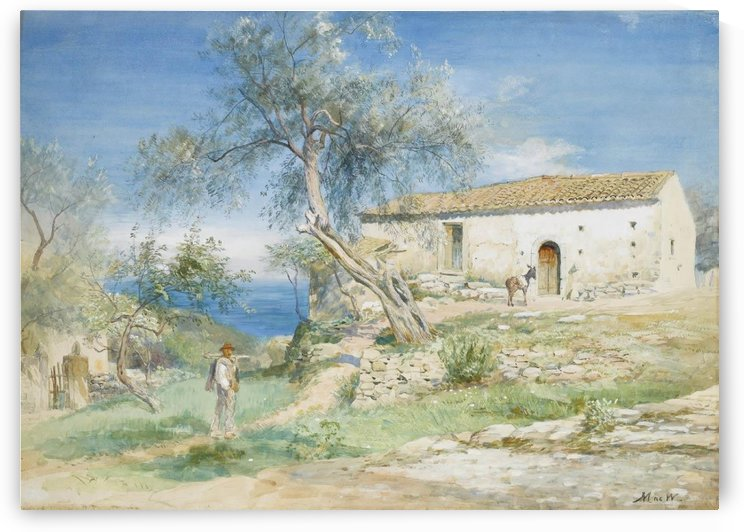 A villa at Taormina by John MacWhirter