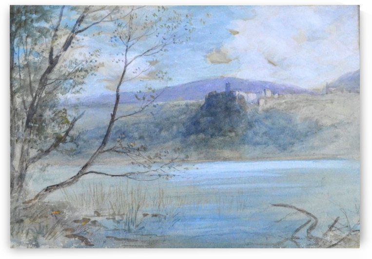 Lake Nemi, near Rome by John MacWhirter