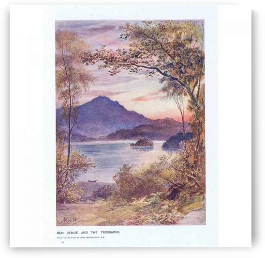 Ben venue and the trossachs by John MacWhirter