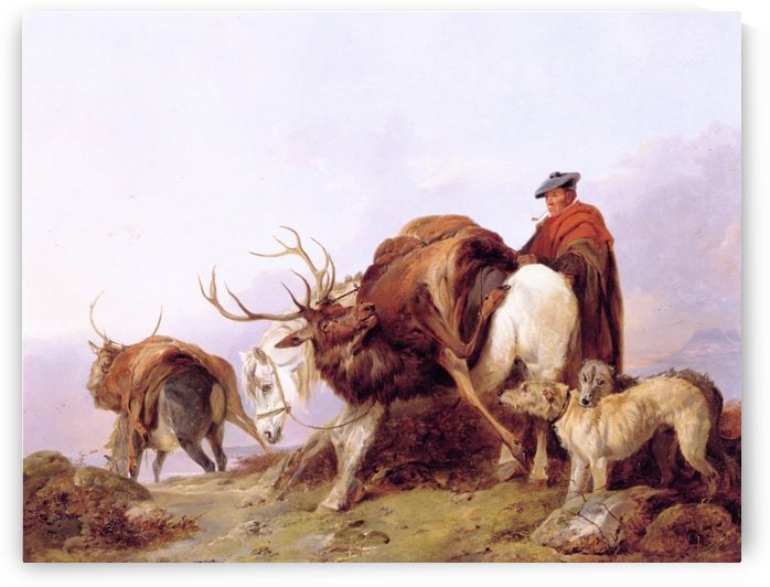 Bringing the hunt back home by Richard Ansdell