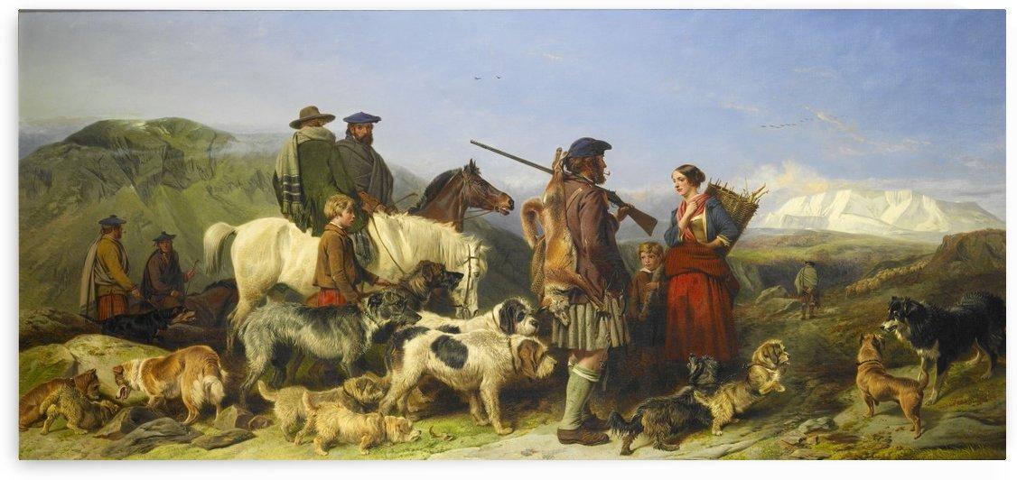 Highland Tod, Fox Hunter by Richard Ansdell