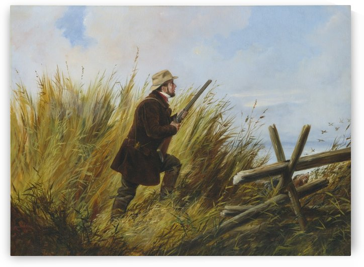 A young hunter by Richard Ansdell