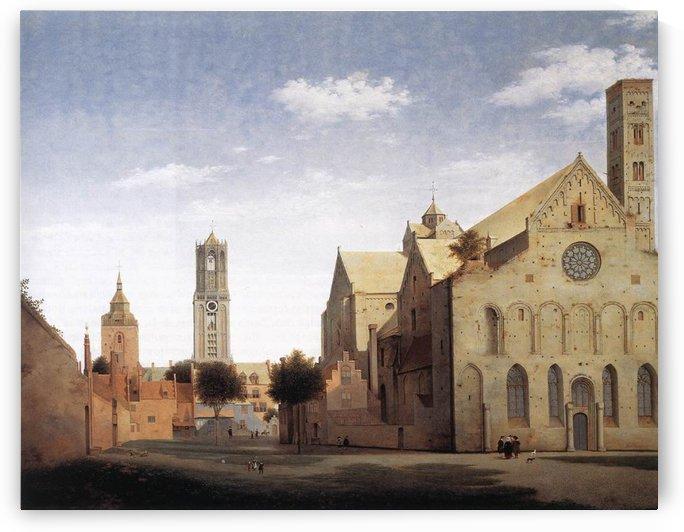 St. Mary's Church by Pieter Jansz Saenredam