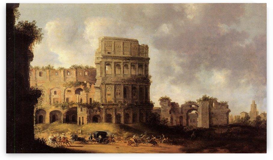 The Colosseum Rome by Pieter Jansz Saenredam