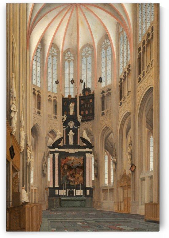 1646, Cathedral of Saint John by Pieter Jansz Saenredam