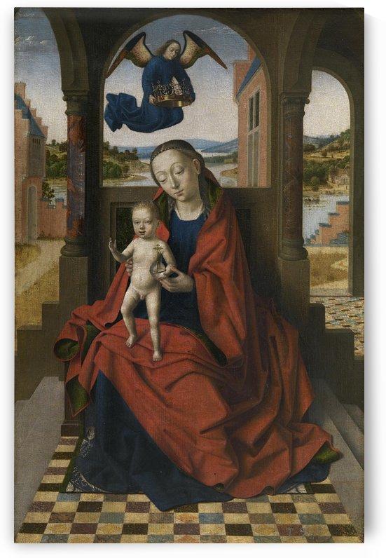 La Virgen con el Nino by Petrus Christus