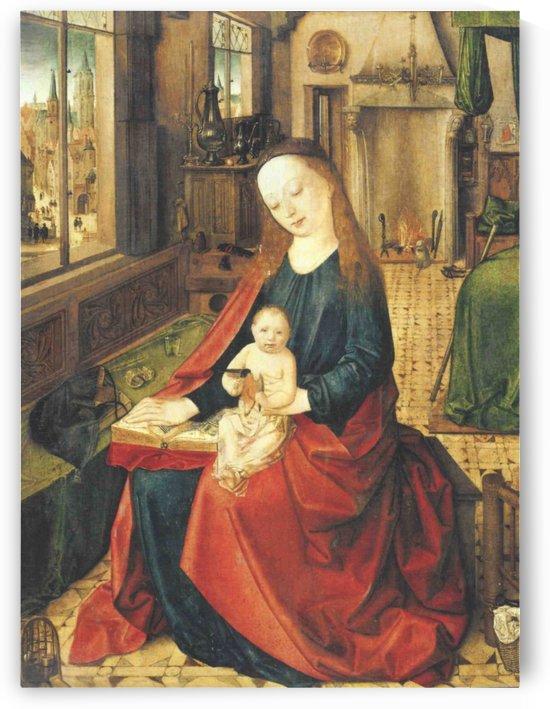 Madonna col bambino by Petrus Christus