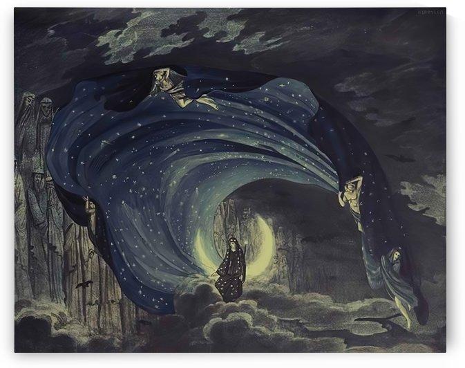 Konigin der Nacht by Karl Friedrich Schinkel