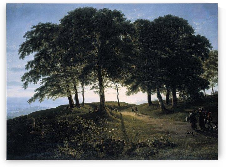 Der Morgen by Karl Friedrich Schinkel