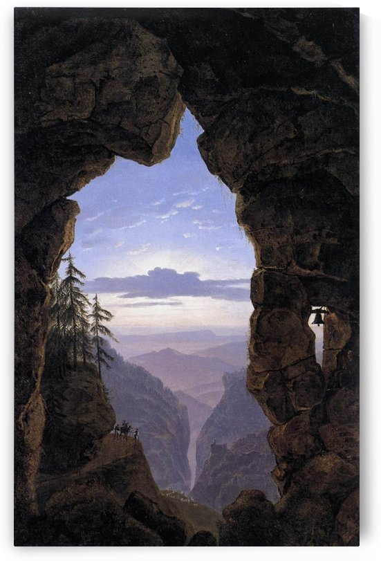 The Gate in the Rocks by Karl Friedrich Schinkel