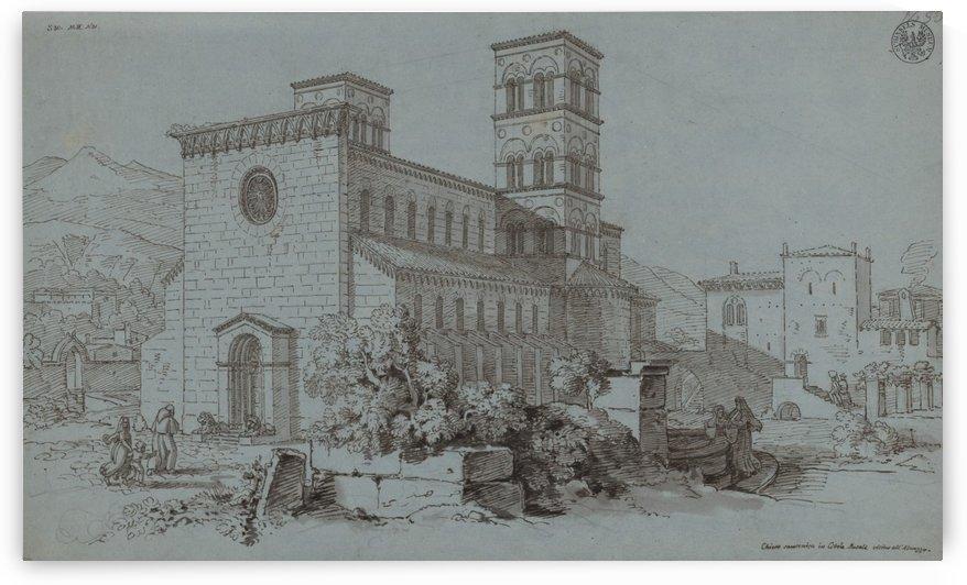 Kirche Santa Mariadel Popolo by Karl Friedrich Schinkel