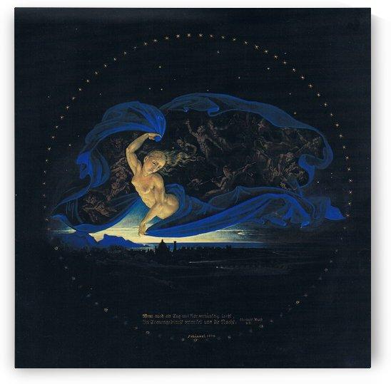 Die Nacht by Karl Friedrich Schinkel