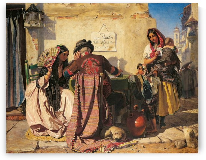 A gypsy family by John Phillip