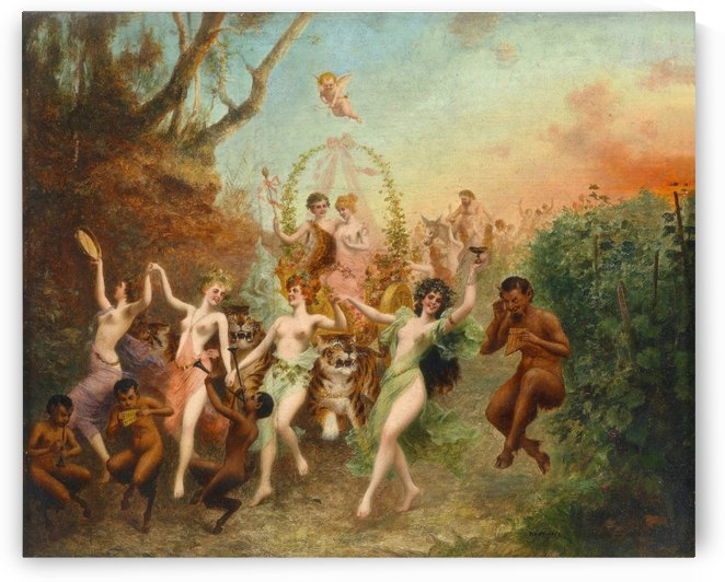 Festival of Fauns and Nymphs by Stephan Sedlacek