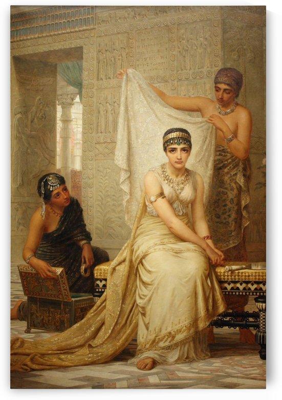 Scene from Oriental Harem by Stephan Sedlacek