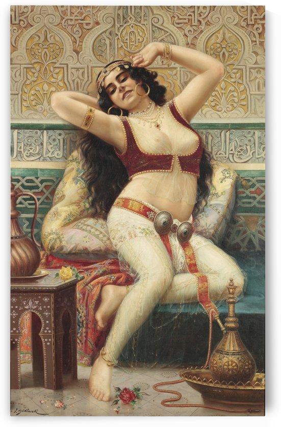 A Harem Beauty by Stephan Sedlacek