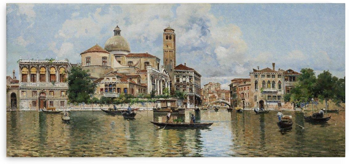 Vedute von Venedig by Antonio Maria de Reyna Manescau