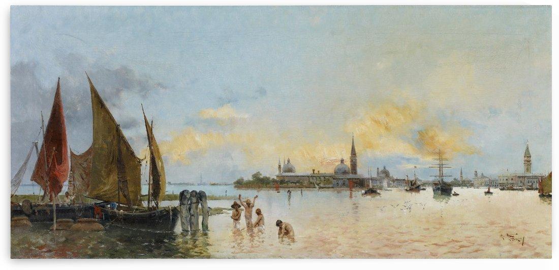 Vista de Venecia by Antonio Maria de Reyna Manescau