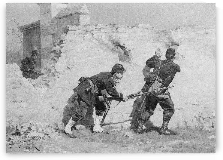 Picket Guards by Etienne-Prosper Berne-Bellecour