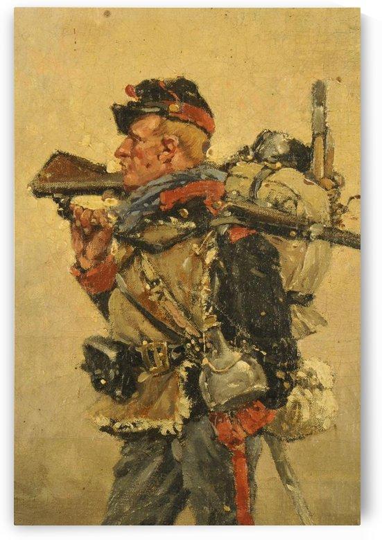 National Guard, Franco-Prussian War by Etienne-Prosper Berne-Bellecour