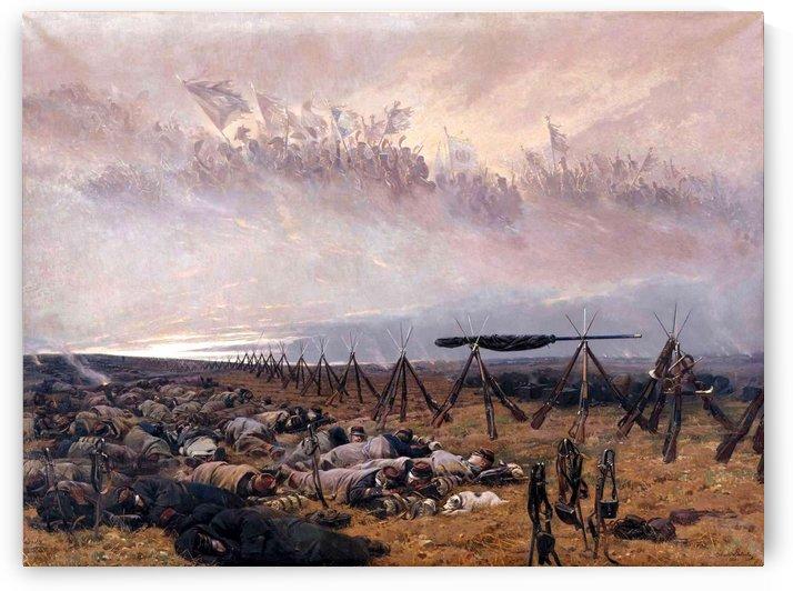Scenes from the war scene by Etienne-Prosper Berne-Bellecour