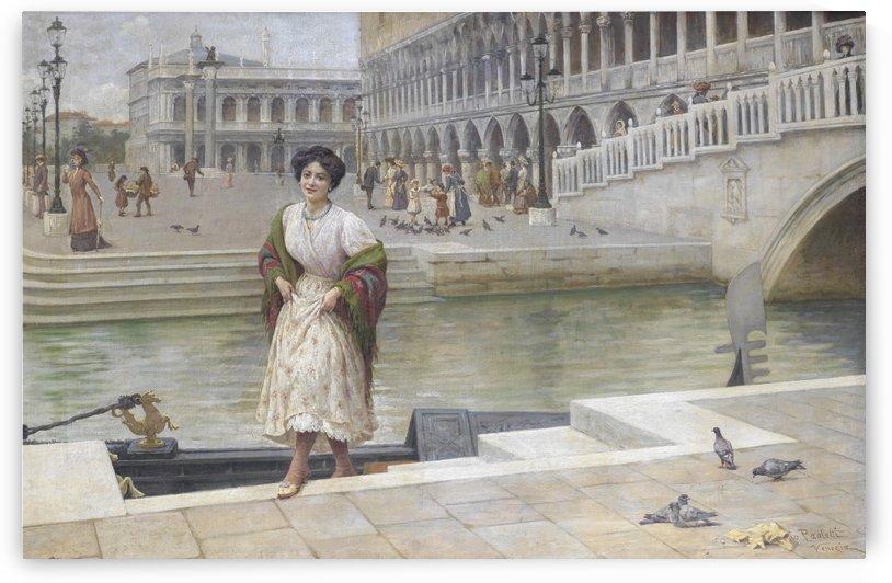 A Venetian beauty by Antonio Ermolao Paoletti