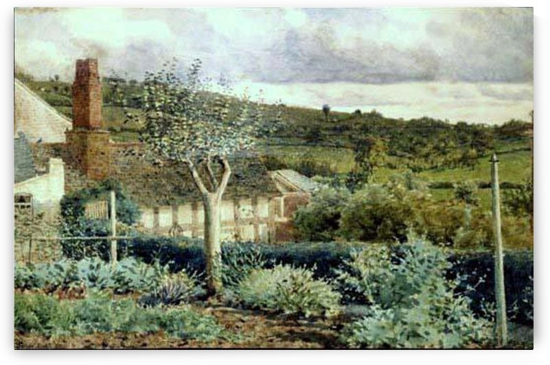The Garden of Sherford Cottage by George Price Boyce